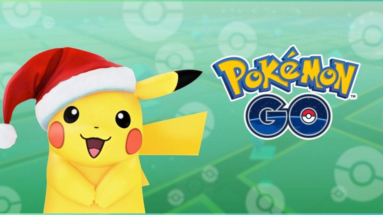 Pokémon Go update brings new creatures and Christmas Pikachu