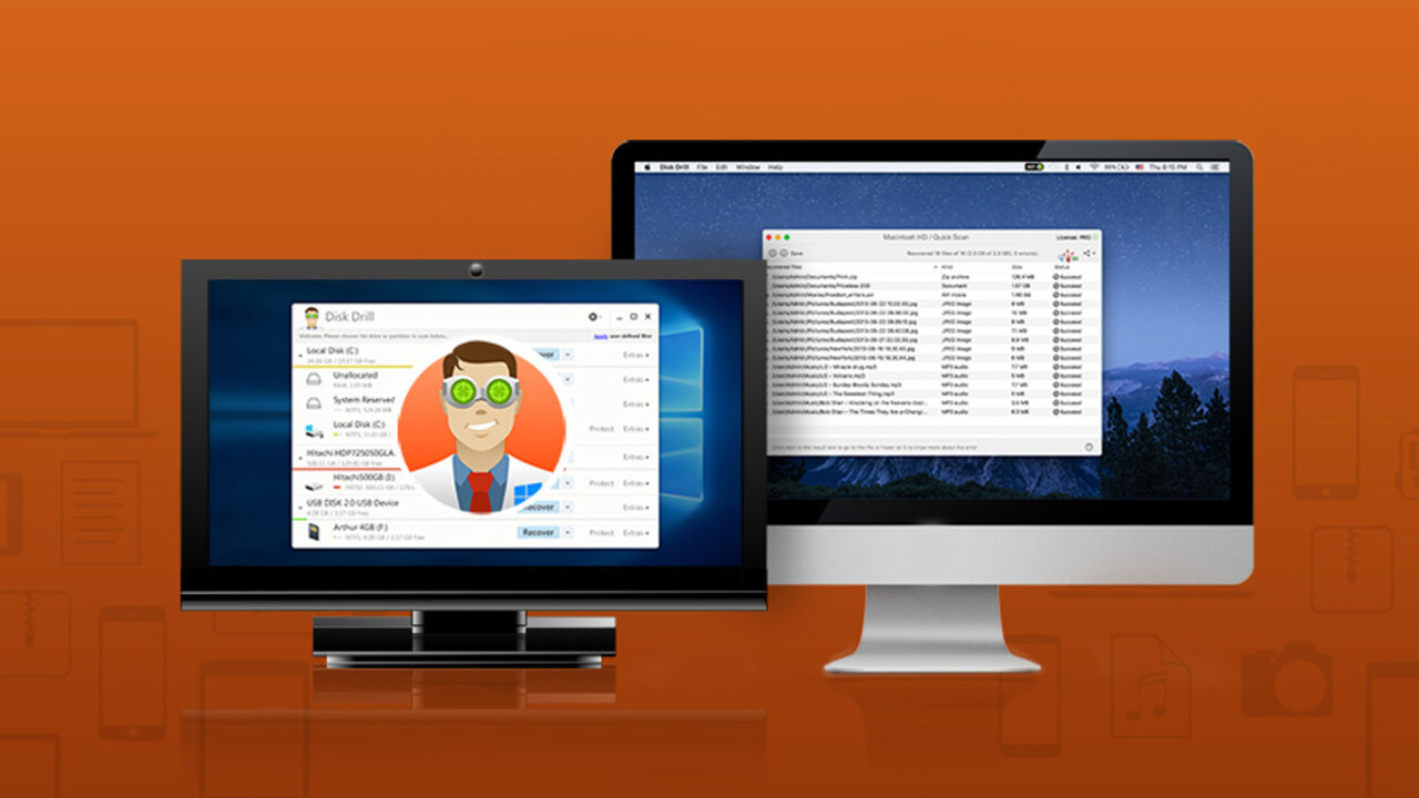 Bring lost files back from the dead with Disk Drill PRO 3 (70% off)