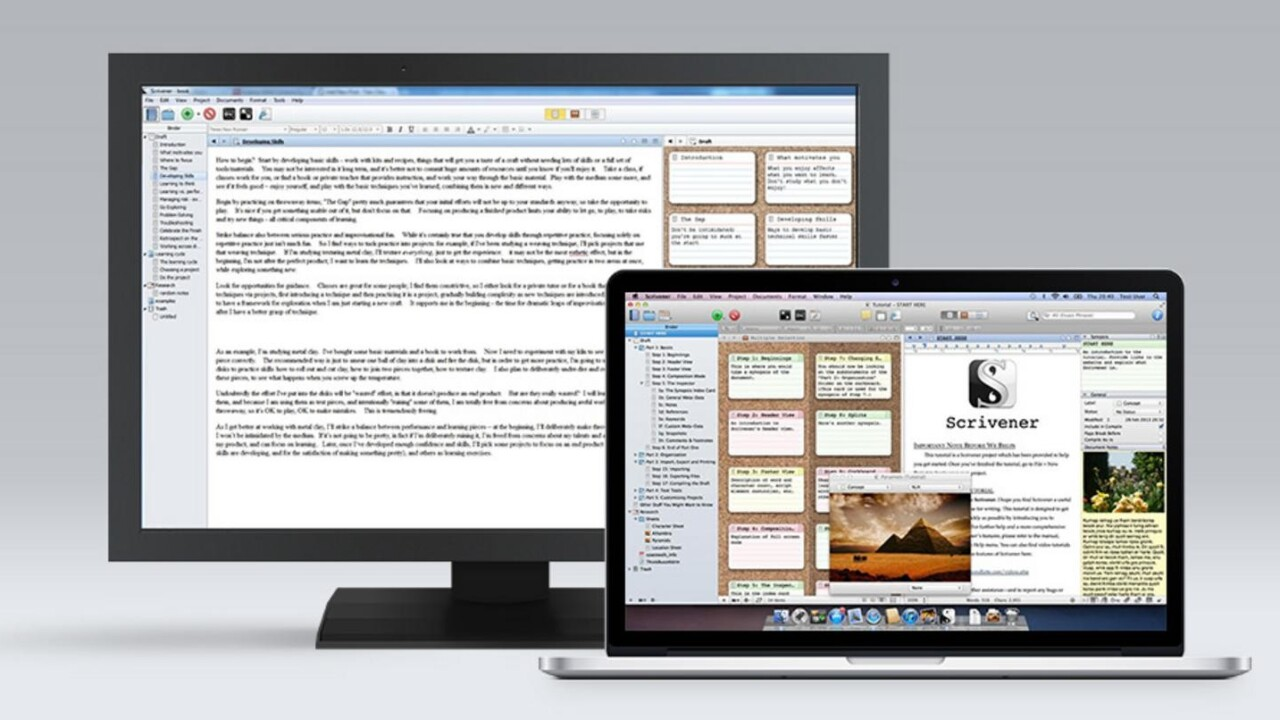 Get half off the award-winning writing app trusted by NYT bestselling authors
