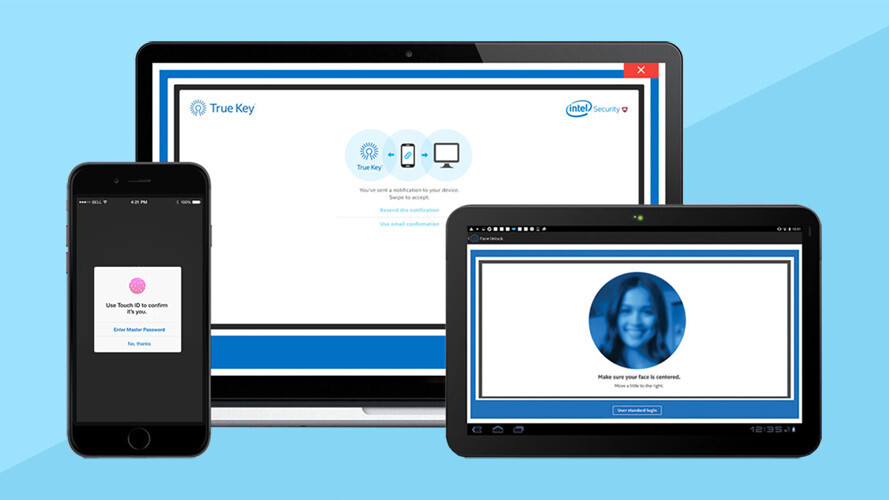 Skip the passwords and log in using Intel's facial recognition app (56% off)