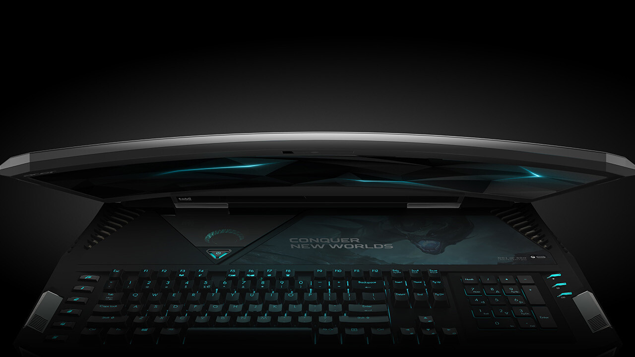 Acer's $9,000 Predator 21 X is the world's first curved laptop