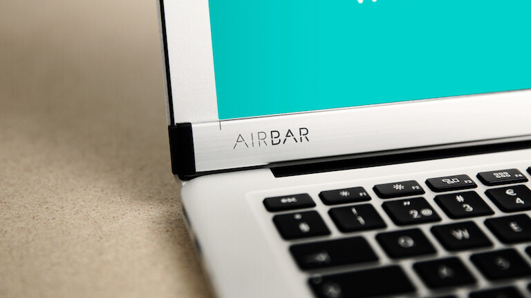 AirBar adds touchscreen and gesture control to non-touch PCs