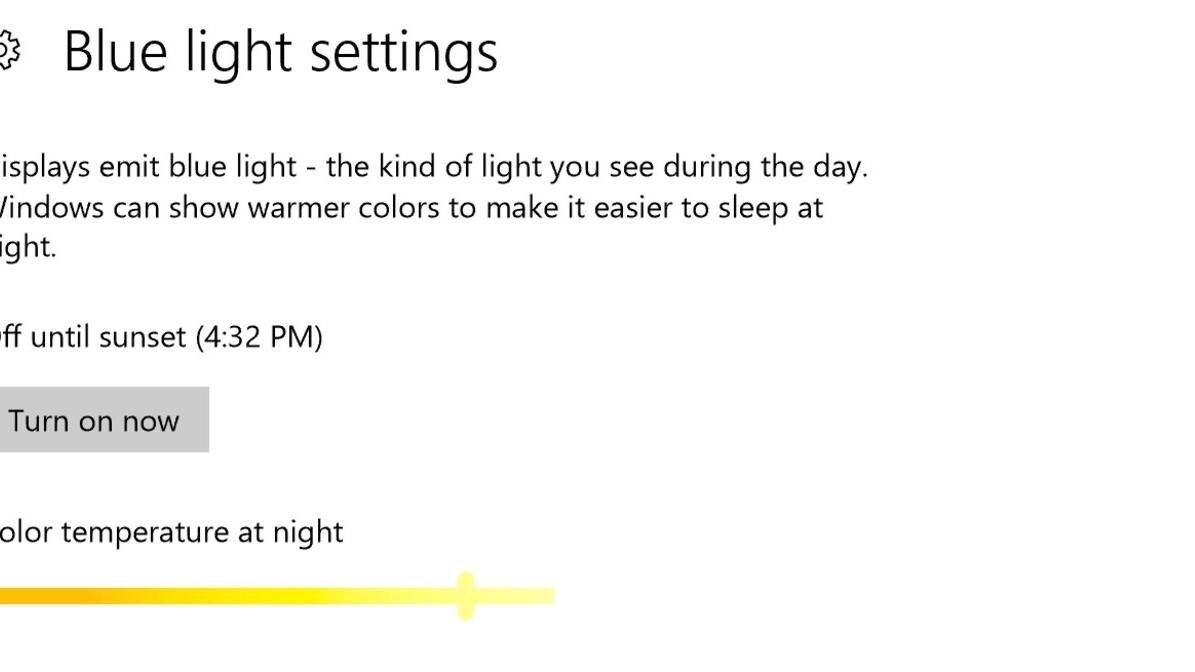 Windows 10 gets a blue light filter, emoji shortcut, and more in huge Insider update