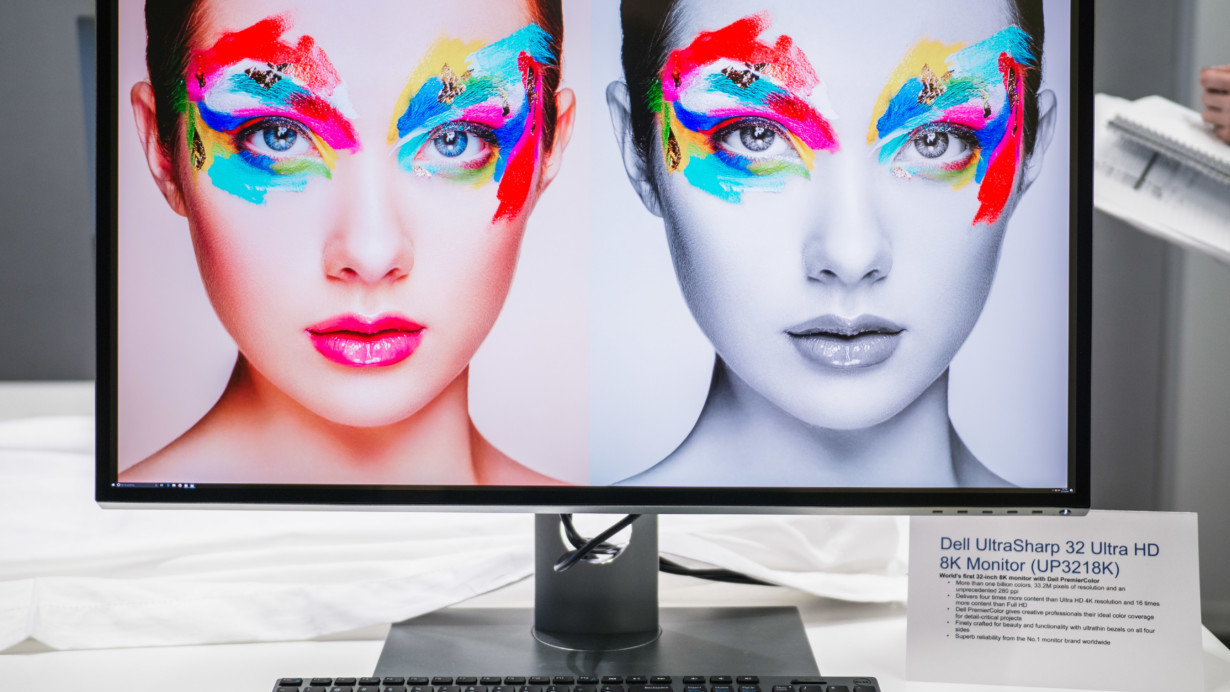 Dell's stunning 8K monitor laughs at your measly Retina displays