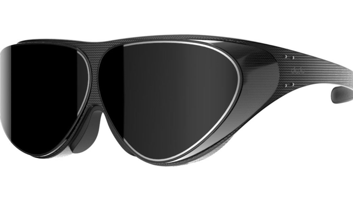 This VR headset is the size of a pair of sunglasses but can rival the Oculus Rift