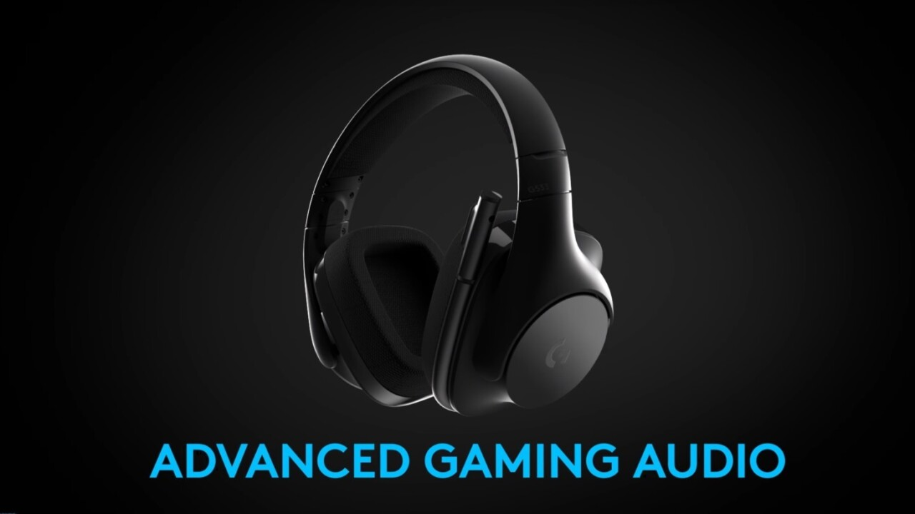 Logitech's new G533 Wireless are almost my perfect PC gamer headset