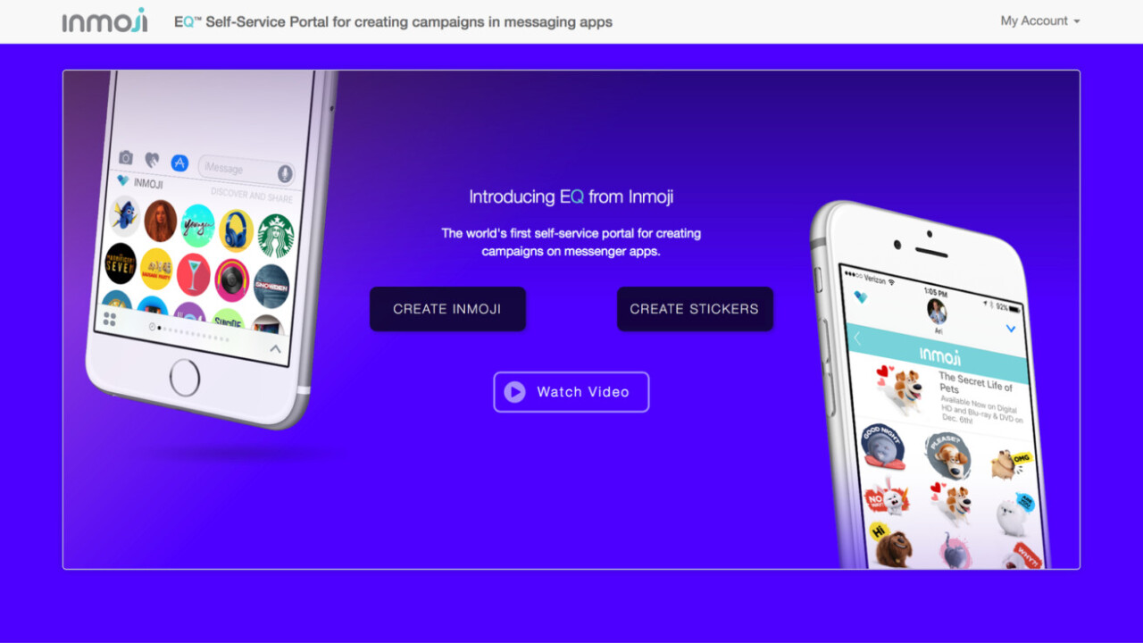 Inmoji lets anyone create clickable emoji ads that actually work