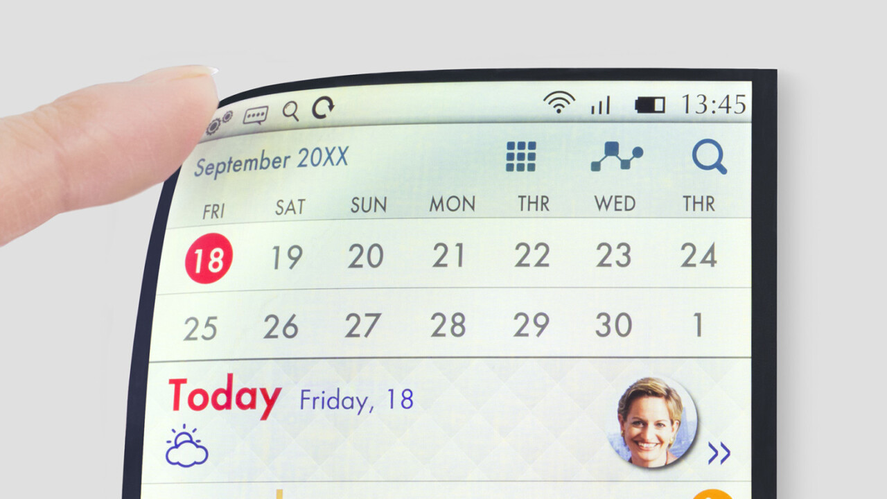 Flexible LCD phone displays are coming soon to end your cracked screen woes