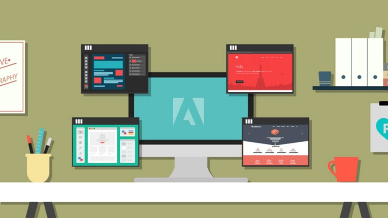 Turn into an undisputed Adobe Creative Suite pro with 130+ training courses for just $39