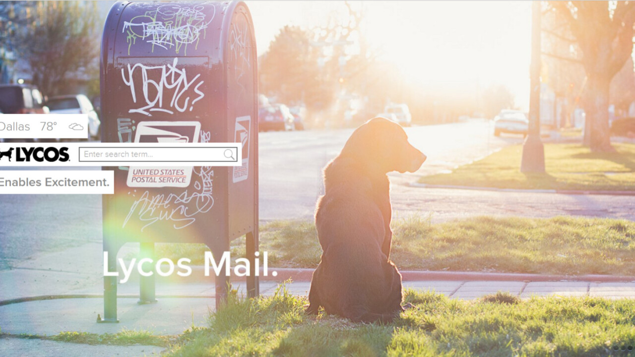 Yahoo may be dead, but Lycos still survives. Somehow.
