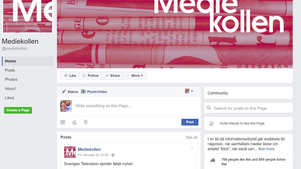 There's now a fake-fake news checker, because of course there is