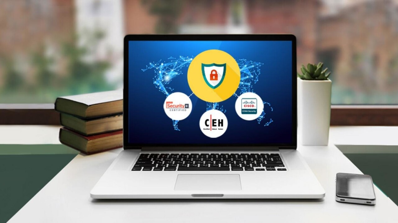 Kick off 2017 by launching a compelling new career with this IT security certification training