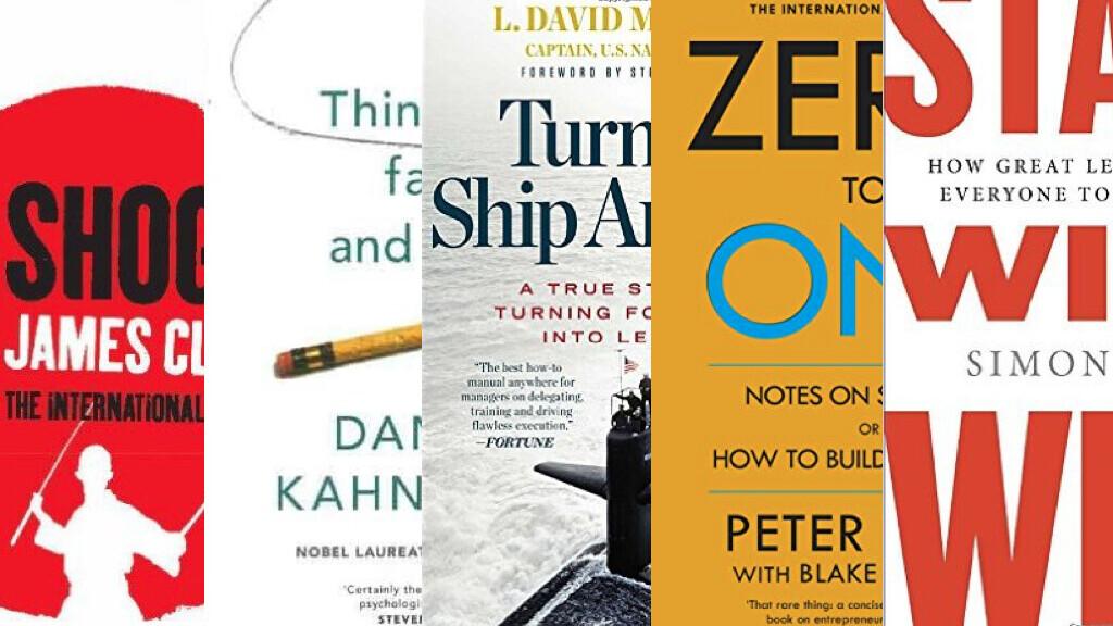 5 inspiring reads for aspiring entrepreneurs: top tech CEOs tip top books
