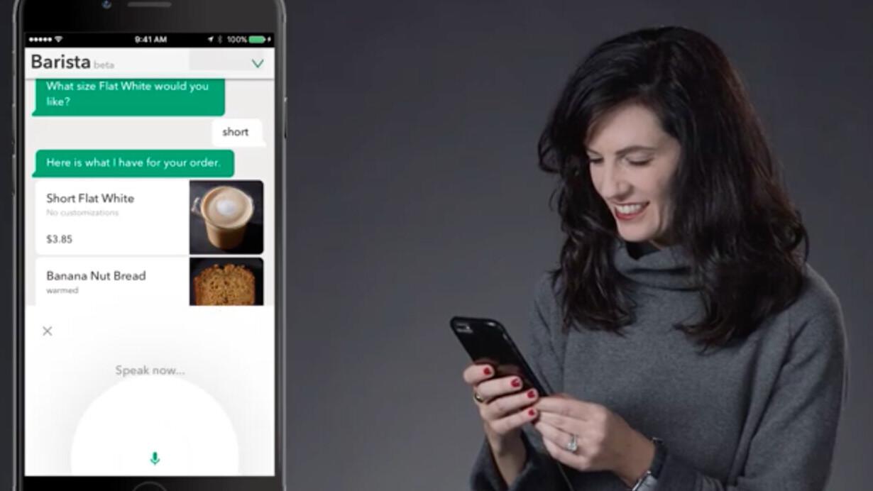 Starbucks' new virtual assistant is the barista version of Siri