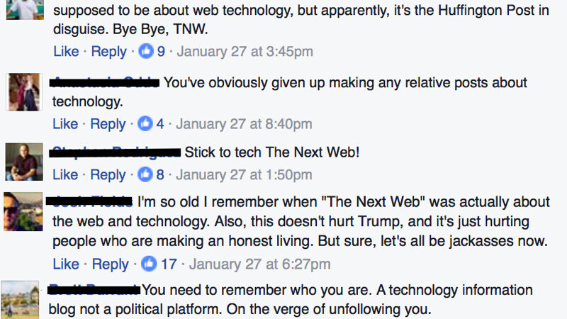 Don't tell us to 'stick to tech'
