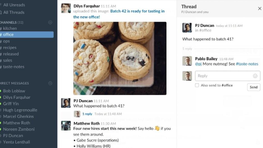 Slack gets threaded messaging at last