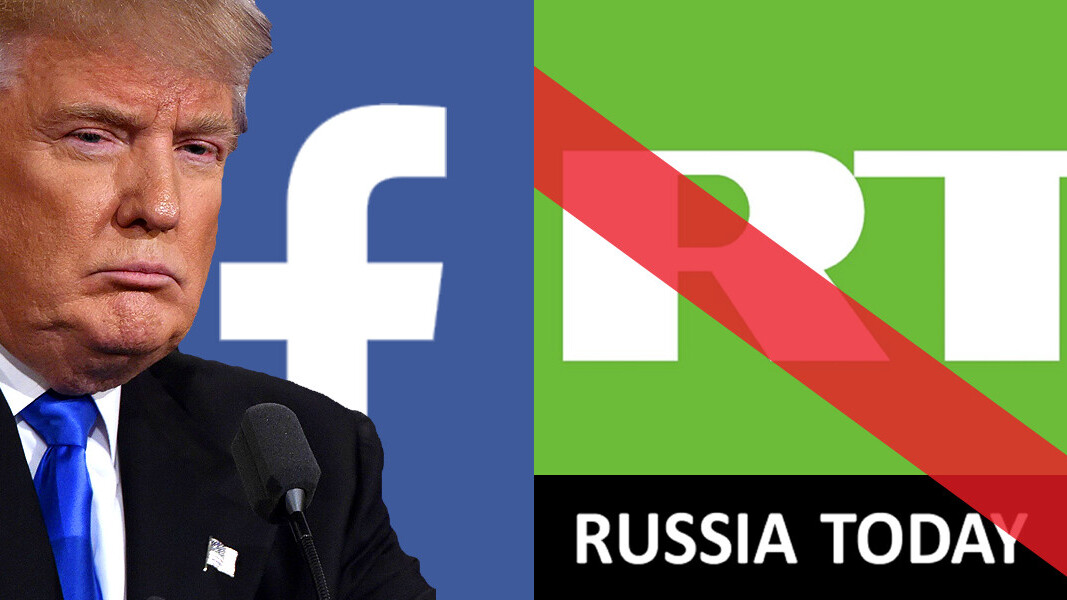 Facebook lifts ban on Russian 'news' media RT prior to Trump inauguration [Update]