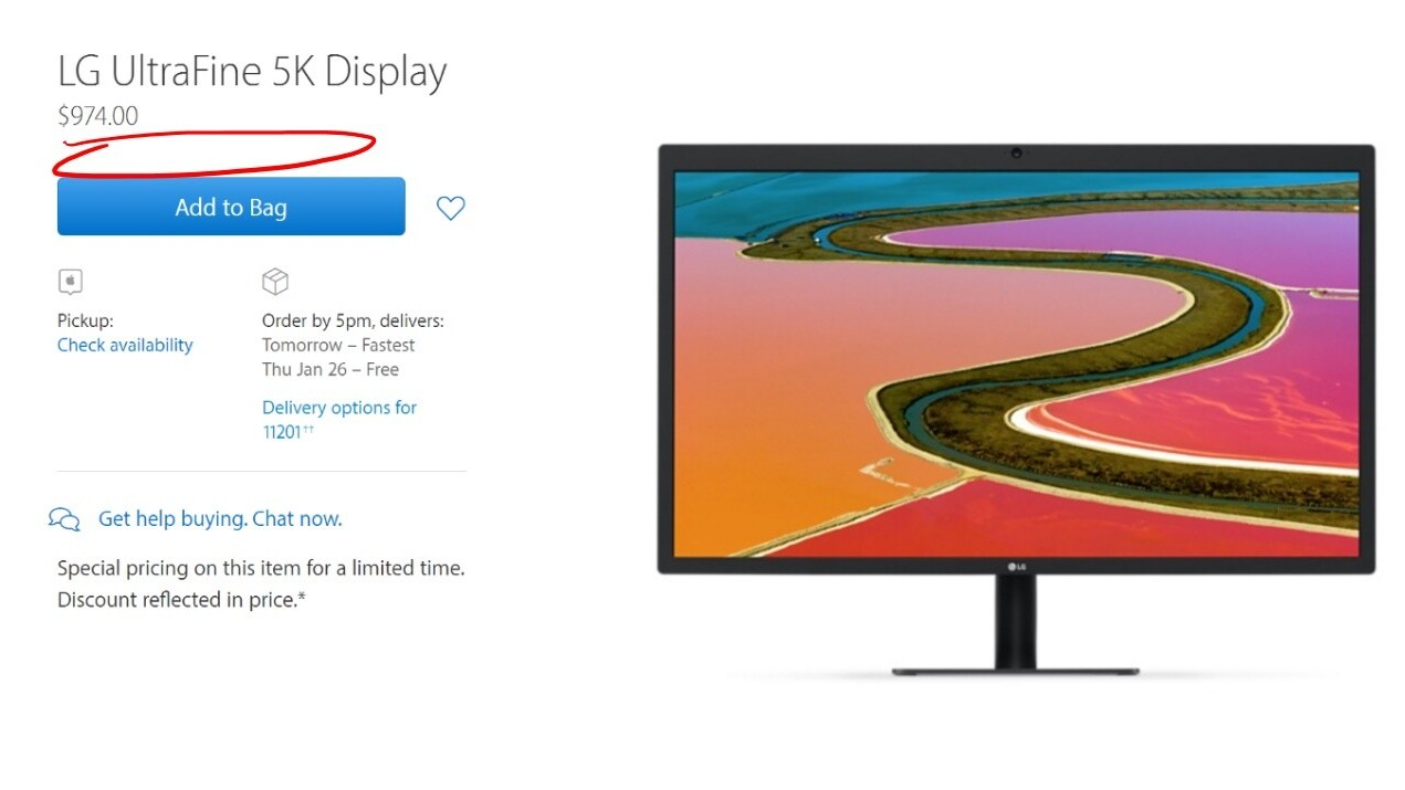 [Retracted] Apple seemingly censors UltraFine 5K monitor reviews after poor feedback
