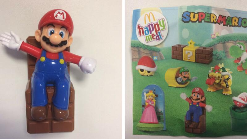 Mario and Luigi: Now a McDonald's Happy Meal toy