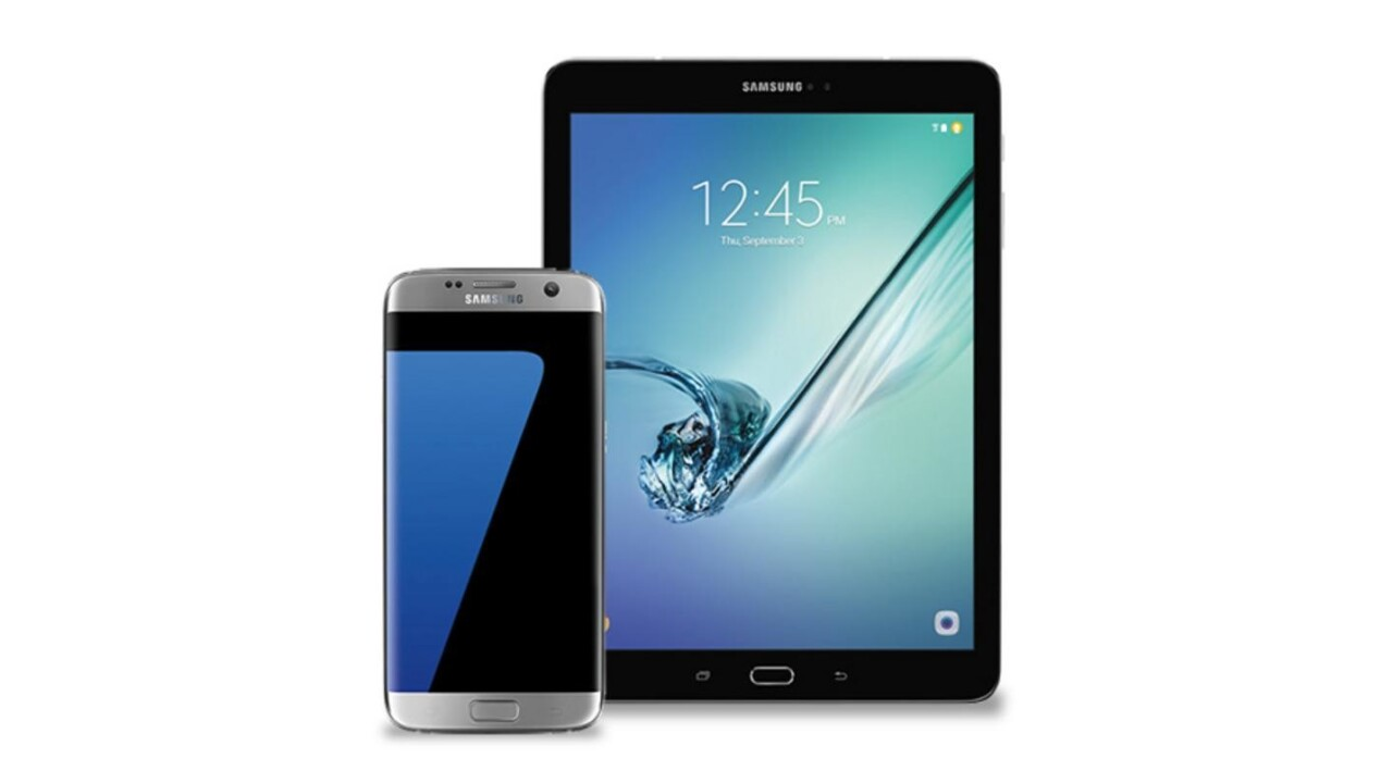 Enter to win Samsung's Galaxy S7 Edge smartphone… and a Galaxy Tab S2 tablet!
