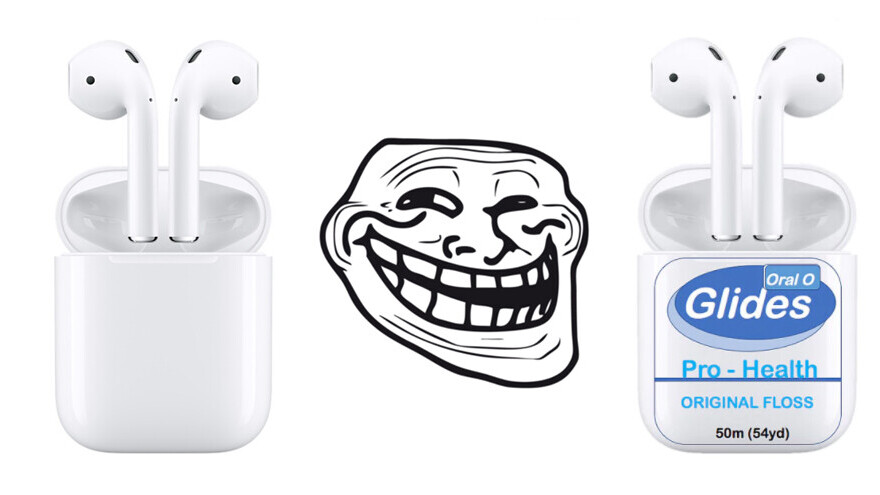 Disguising your AirPods as dental floss is the best way to deter thieves