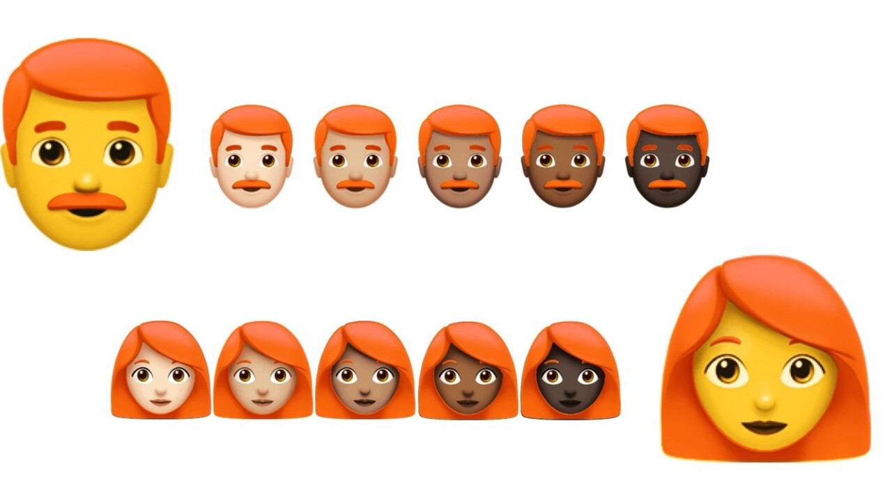 Redheads rejoice! Ginger emoji might at long last be on the way