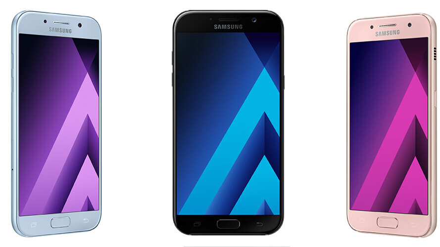 Samsung drops Galaxy A 2017 with boosted waterproofing and 16MP cameras