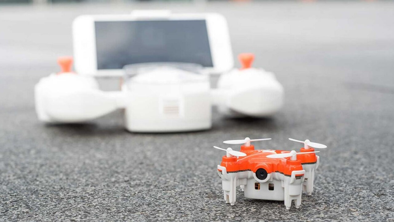 Command the skies with the world's smallest camera drone… at an equally tiny price