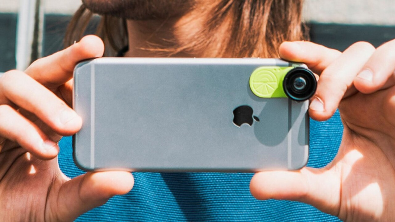 Snap dazzling smartphone pics every time with this amazing camera lens set (59% off)