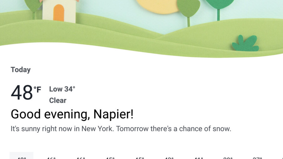 Facebook is building a full-fledged weather tool into its app