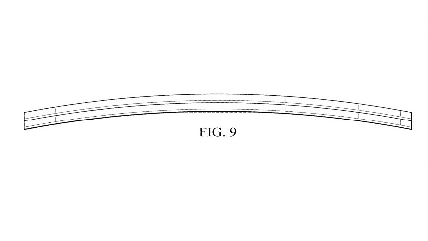 Patent shows Intel's design for a curved 2-in-1 laptop