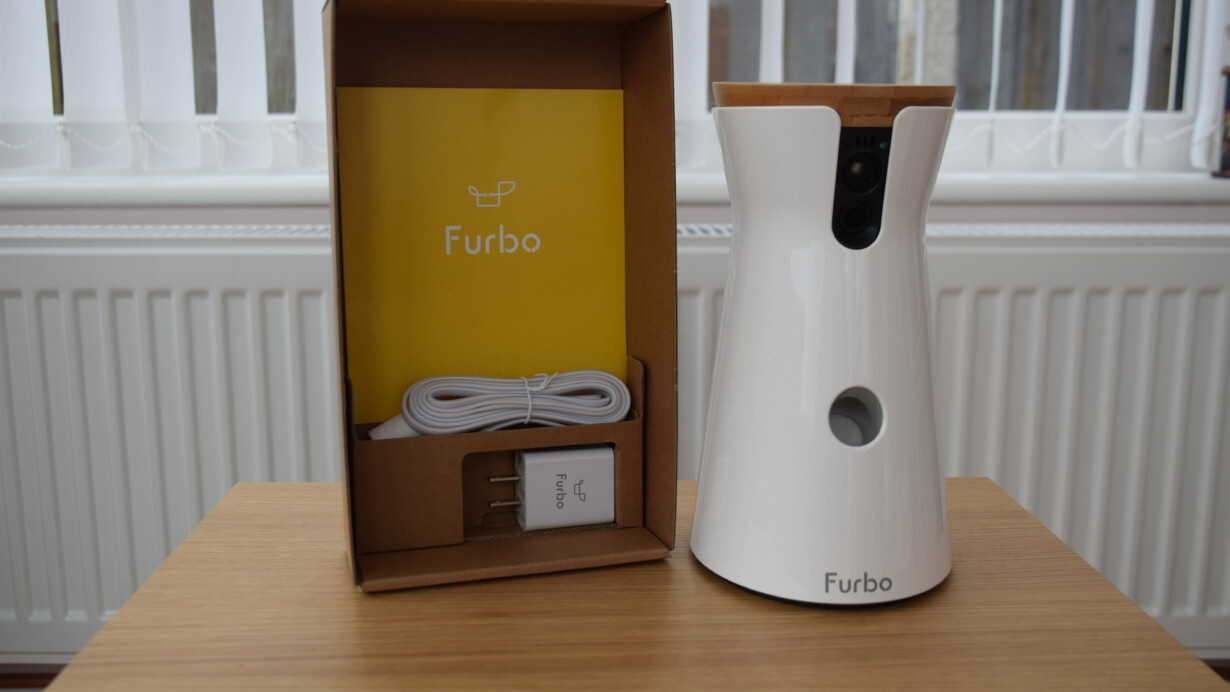 This smart home device is like a treat-dispensing baby monitor… for your dog