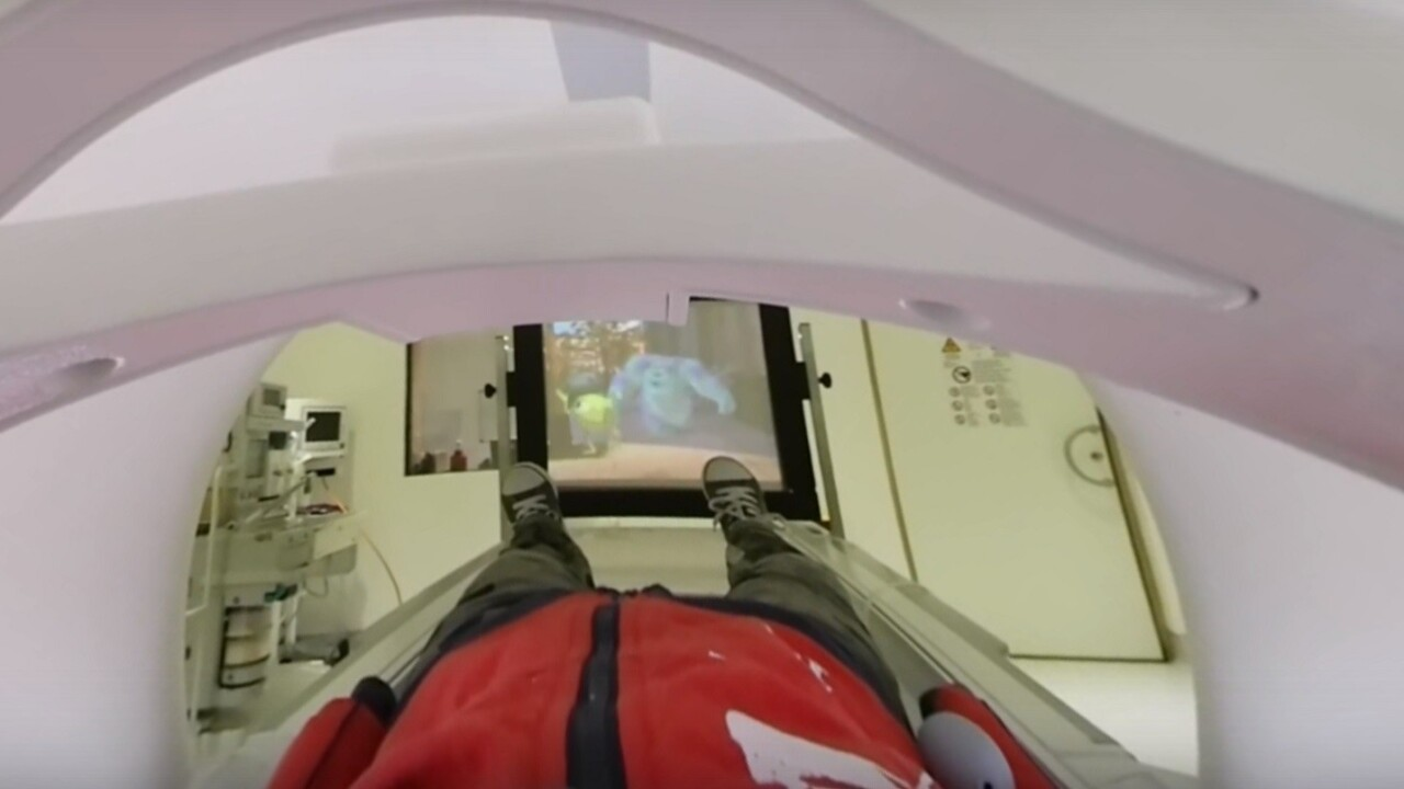 British hospital uses VR to make MRI less scary for kids