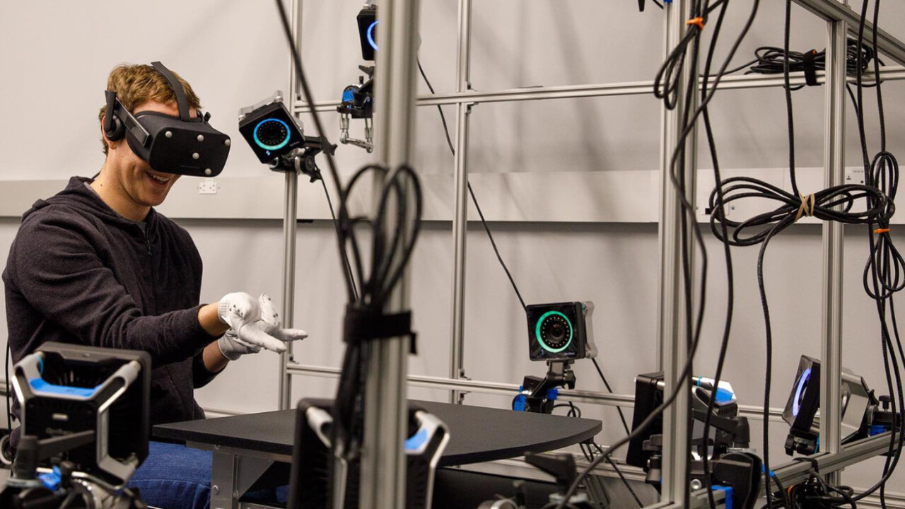 Mark Zuckerberg reveals Oculus' glove-like VR controller prototypes