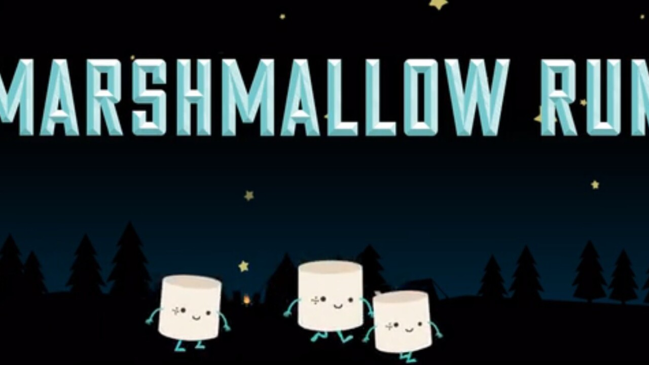 These Girl Scouts are making an insanely cute video game about s'mores