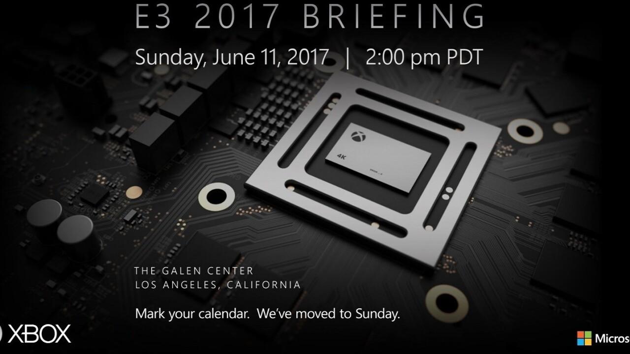 Microsoft teases Project Scorpio reveal at E3