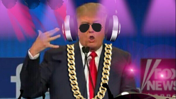 DJ Trump is a GREAT video mixer that makes Trump say anything you type