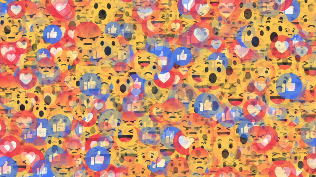 This extension randomizes your Reactions to hide your true emotions from Facebook