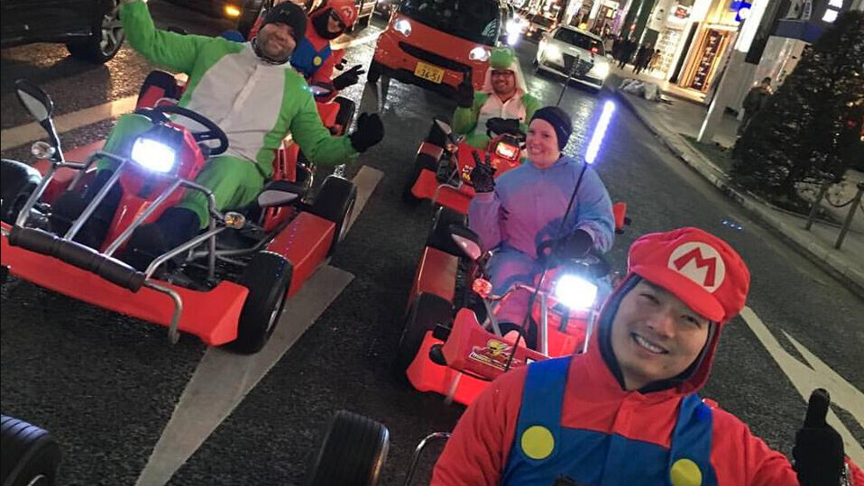 Nintendo is suing this go-kart company that lets people race dressed as Super Mario