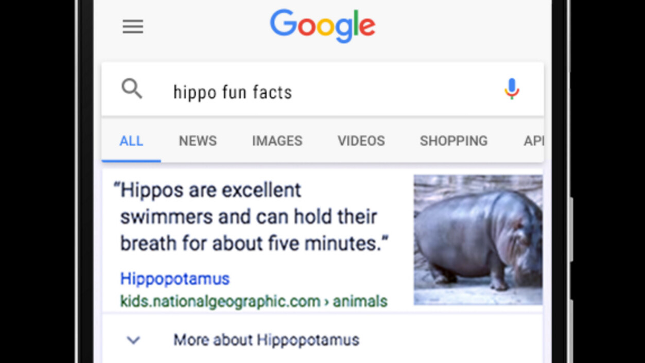 Google adds trivia facts to search results, because why not?