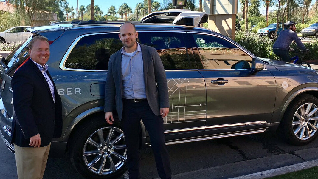 Uber's self-driving cabs are hitting the streets in Arizona