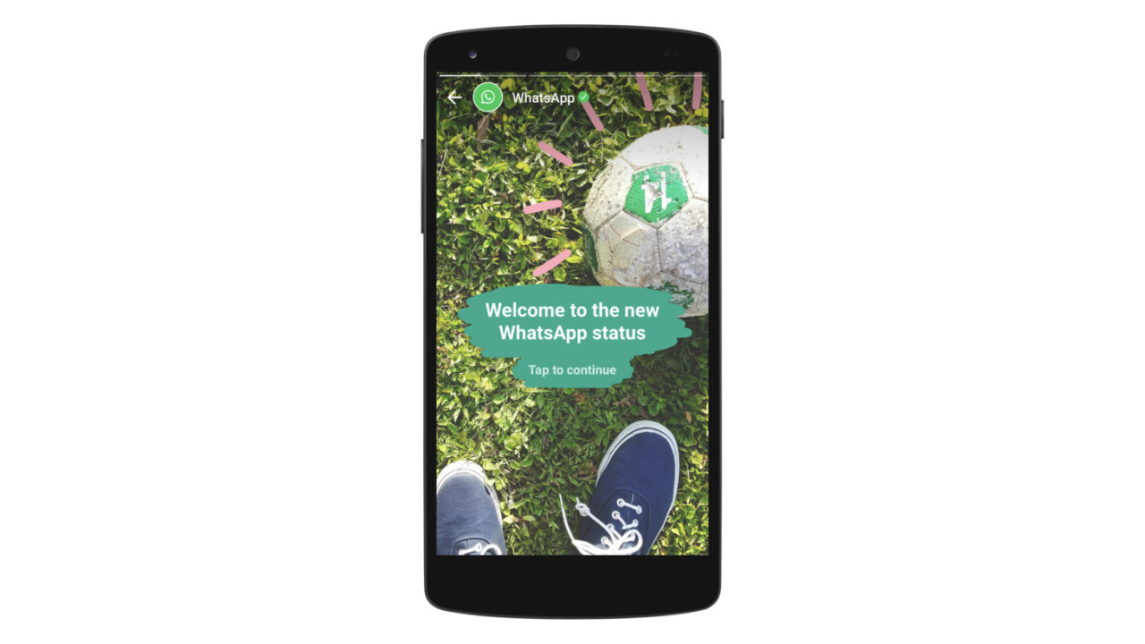 WhatsApp returns to its roots with its Snapchat-style Status feature