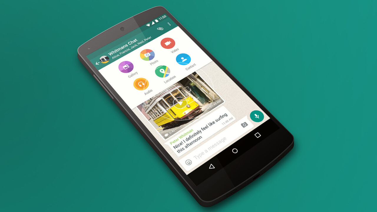 WhatsApp finally lets you send any kind of file