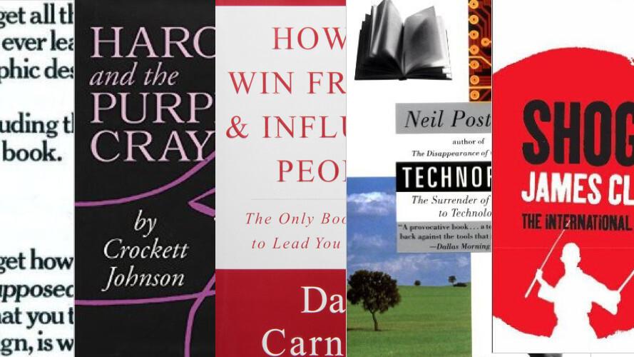 5 more inspiring reads for aspiring entrepreneurs: top tech CEOs tip top books