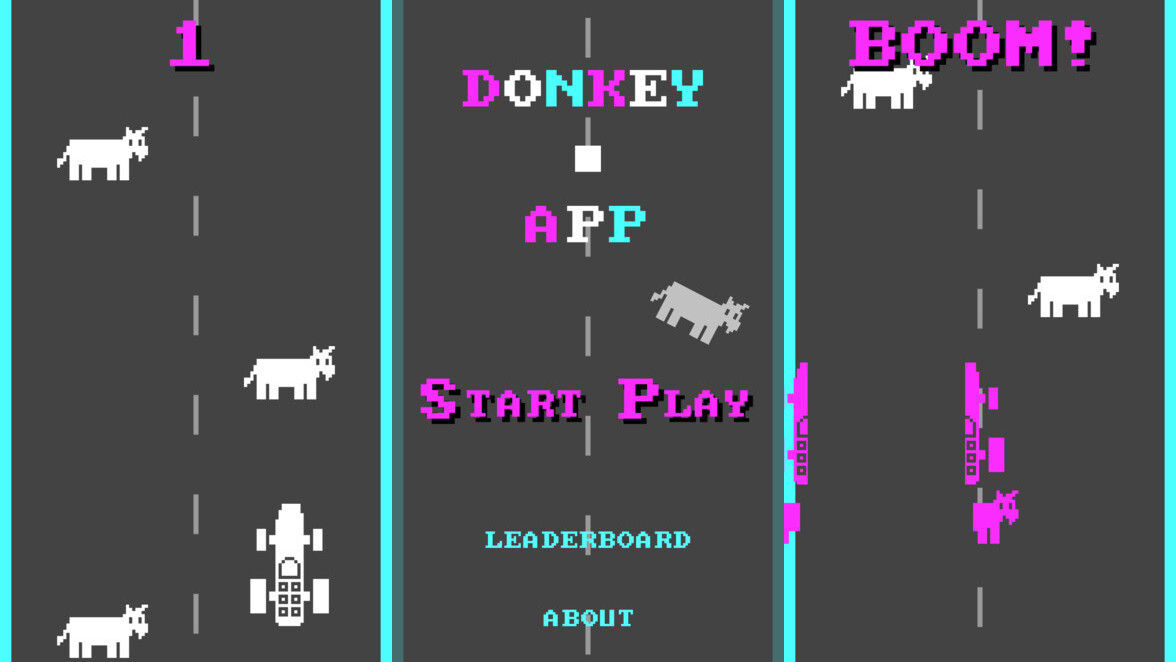 Bill Gates' weird driving game about running over donkeys is now a mobile app