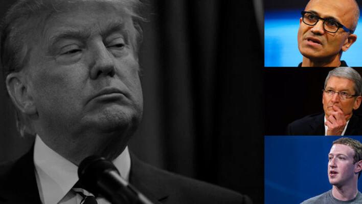 Apple, Google, Microsoft, Facebook unite to draft letter against Trump's immigration ban