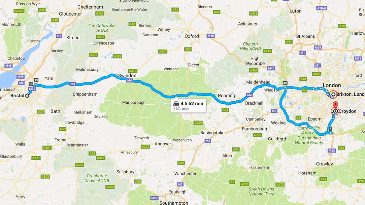 Londoner gets a 5 hour 'accidental' detour courtesy of Uber