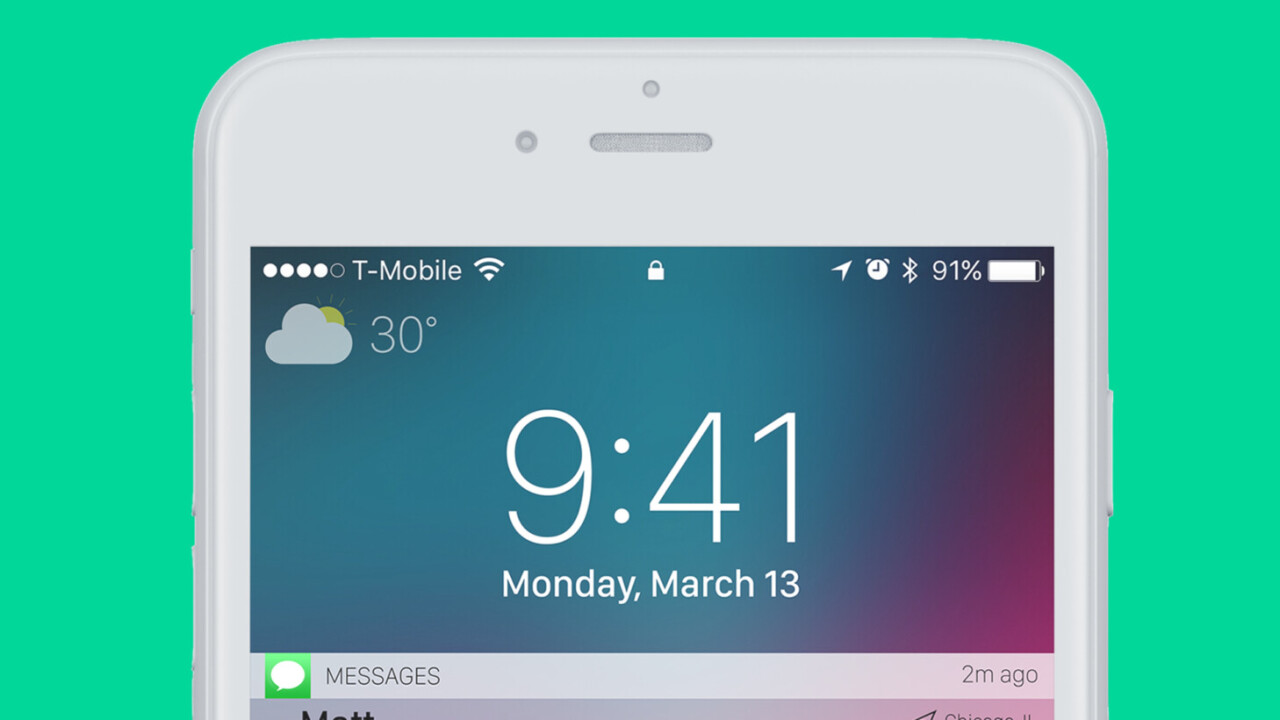 iOS concept design shows how Apple can make the iPhone lock screen cooler