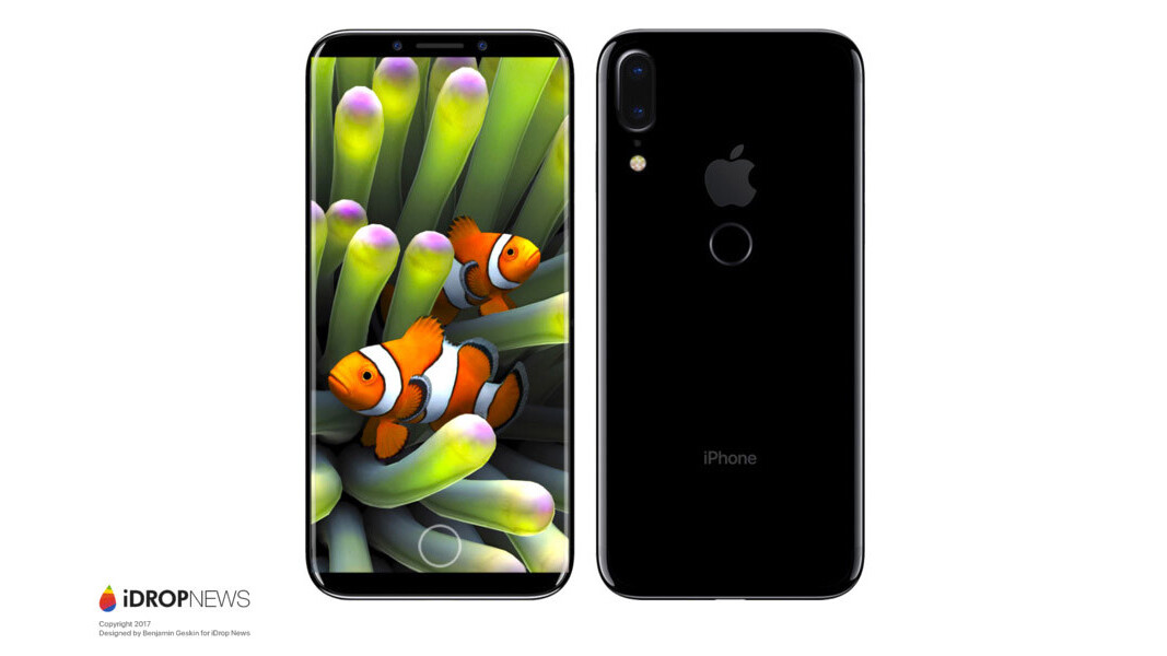 The iPhone 8 (Edition) looks a lot like the Galaxy S8 according to new 'leak'