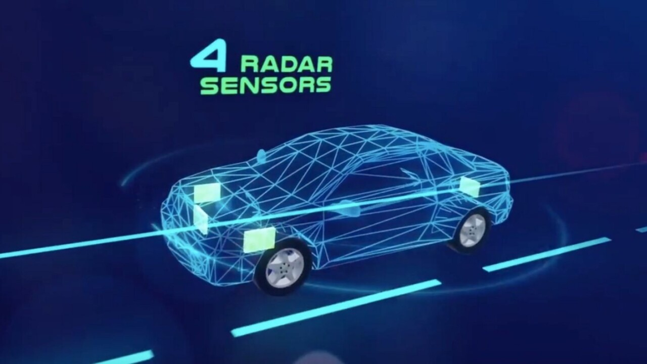 Radar system envisions a safer future for self-driving cars